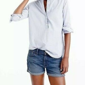 J. Crew factory denim shorts 27
